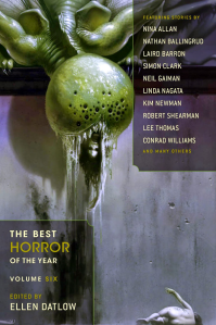 The Best Horror of the Year vol 6