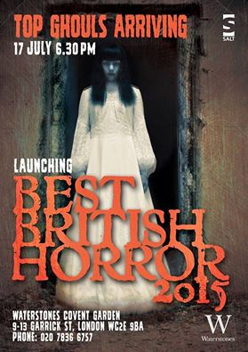 Best British Horror 2015 Launch at Waterstones