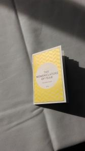 Andrew Hook's beautiful chapbook